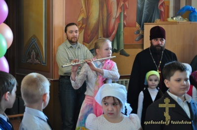 Пасха – Воскресная школа 2010