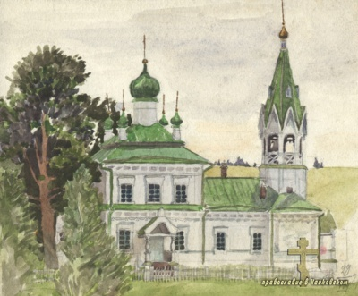 Георгиевский храм д.Марково