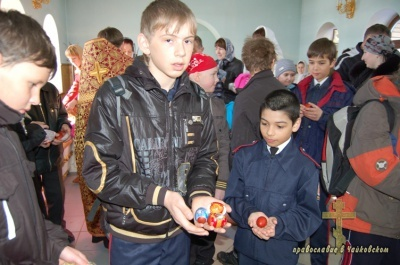 Пасха – Кадетский класс 2010