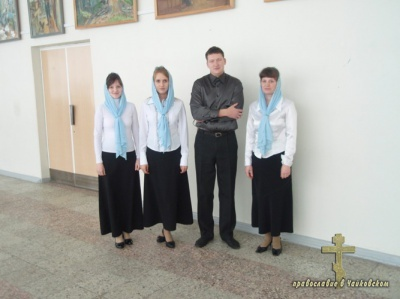 Хор храма Успения Пресвятой Богородицы г. Чайковский