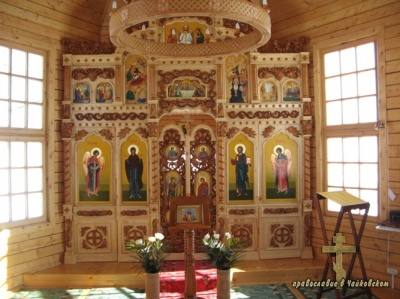 Софийский храм д.Карша